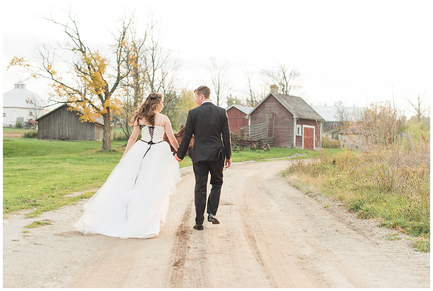 country heritage park couple walking